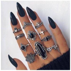RINGOLOGY - 10 PCS/SET BOHEMIAN RINGS